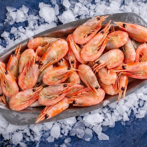 Креветка гренландская сырец | Гренландские креветки купить в Одессе