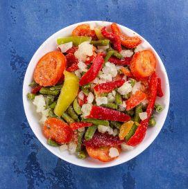 """Смесь """"Овощное рагу"""" (цветная капуста, горошек, перец, морковь, кабачок, томат, лук)"""