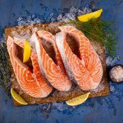 Стейк лосося охлажденный (1)