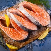 Стейк лосося охлажденный (2)